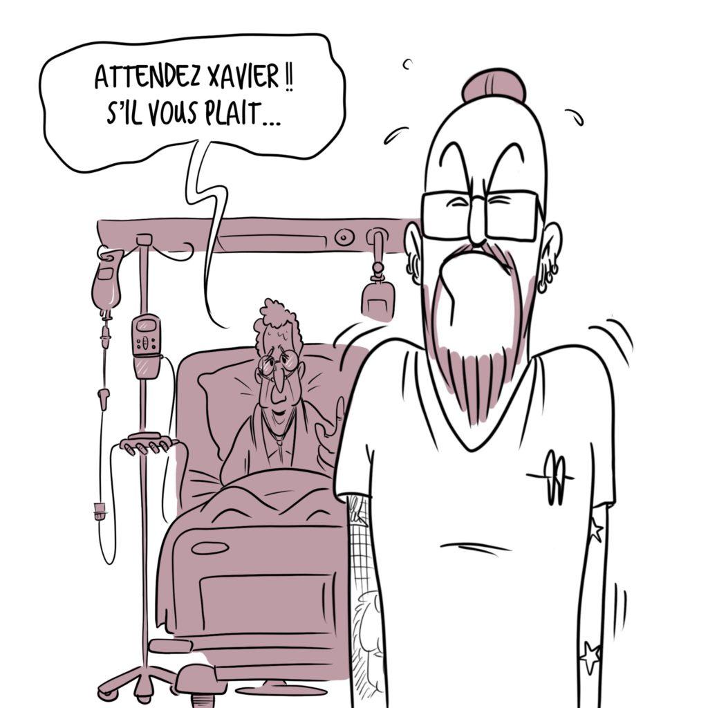 Fin de vie soins palliatifs L'homme étoilé