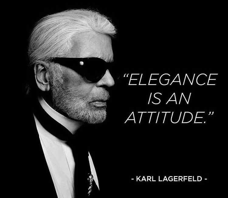@Karl Lagerfeld