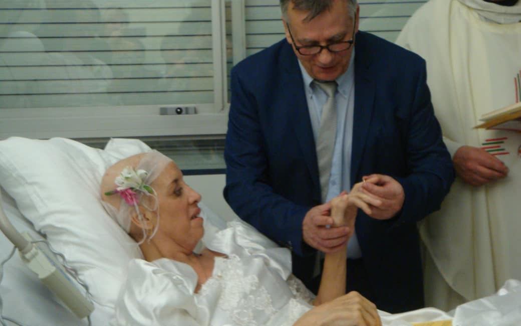 Unite de soins palliatifs mariage