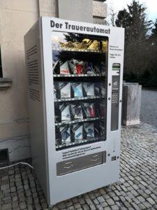"Trauerautomat ou ""Distributeur à deuil"""