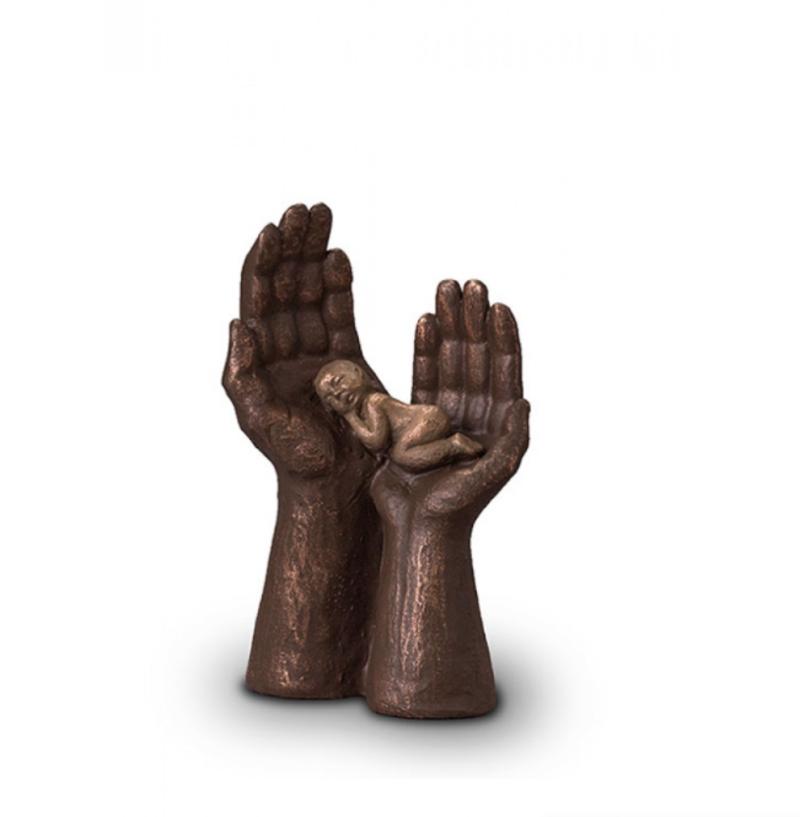 urne pour bebe souvenir permanent bronze