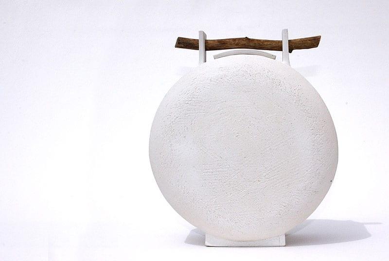 urne funeraire blanche naturaleza