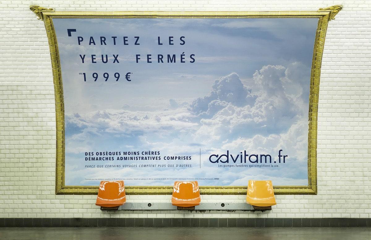 campagne publicitaire Advitam