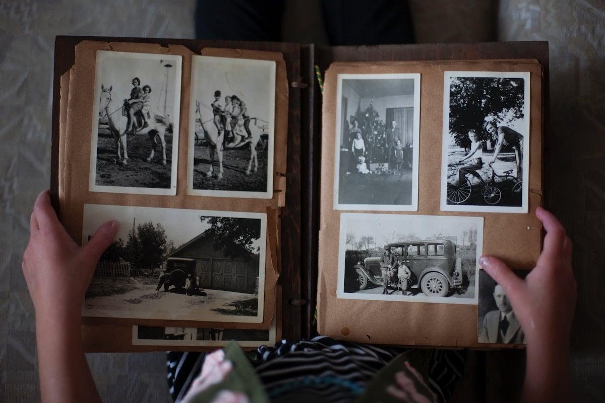 vieil album photo
