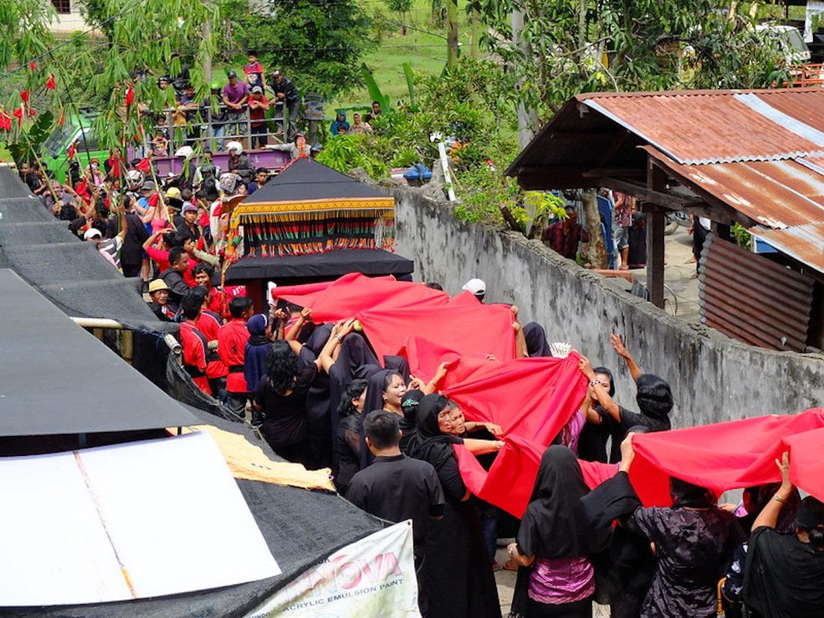 Torajas Indonesie morts