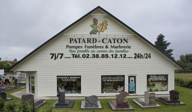 Entreprise pompes funebres patard Caton