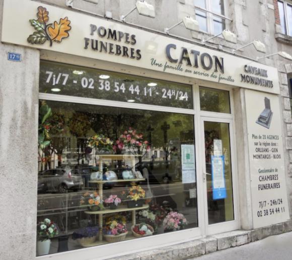 Caton orleans entreprise pompes funebres