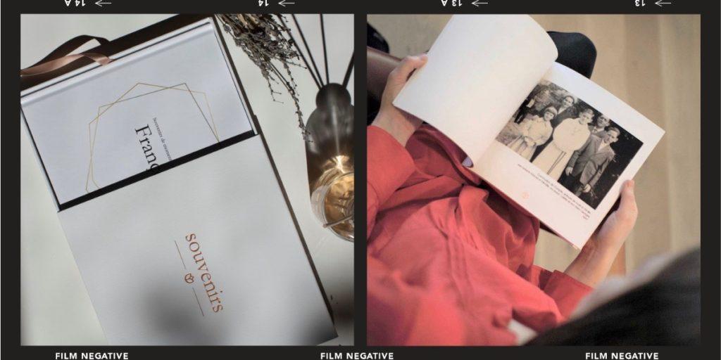 Une Rose Blanche Livre Hommage Photos obsèques