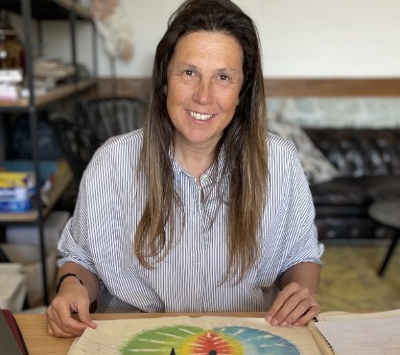 Anne Alessandri art therapeute deuil