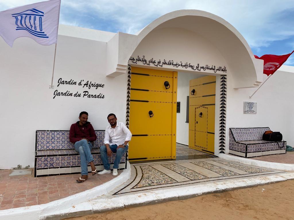 Le Jardin d'Afrique de Rachid Koraïchi à Zarzis, en Tunisie