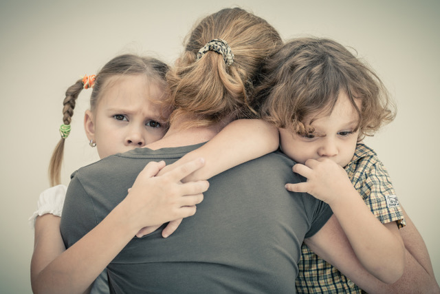 Parents en deuil d'un enfant